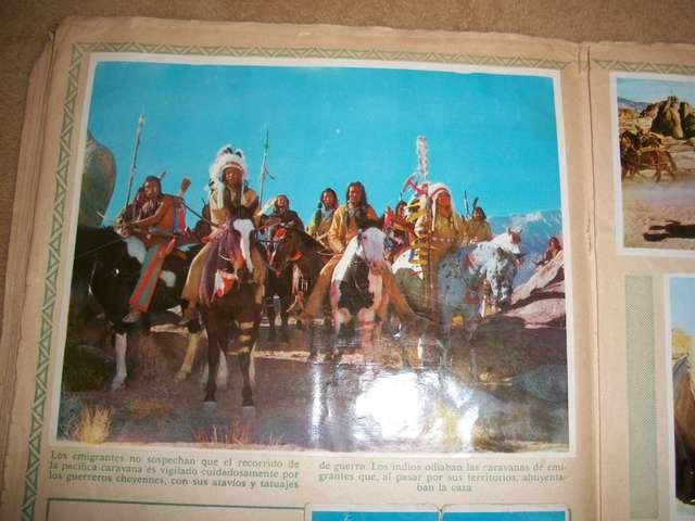 Album De Cromos La Conquista Del Oeste