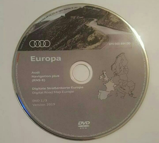Audi a3 a4 a6 s3 s4 RS TT RNS-E rnse navegación errores de lectura reparación