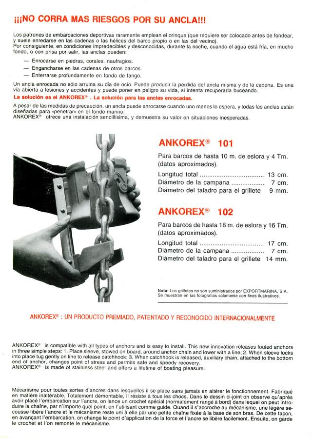 DO NOT RUN RISKS FOR YOUR FAWLED ANCHOR - foto 4