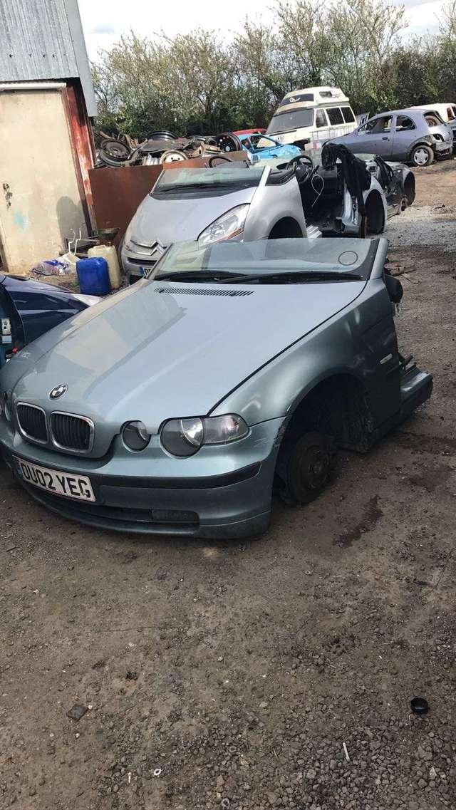 DESPIECE BMW 320D 150CV E46 COMPACT