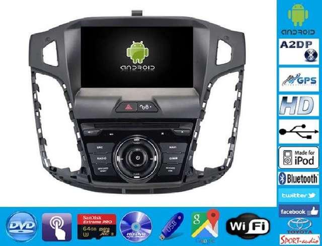 RADIO NAVEGADOR DVD FORD FOCUS MK3