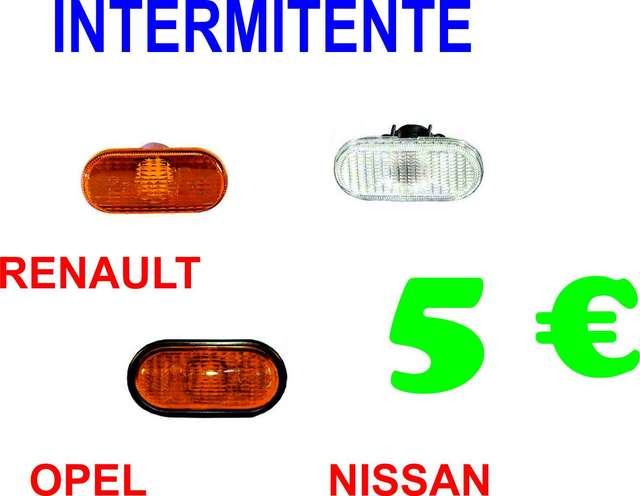 RENAULT-NISSAN-OPEL INTERMITENTE LATERAL