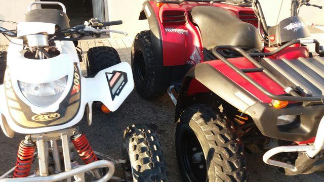DESPIECE ATV - BOMBARDIER TRAXTER 500