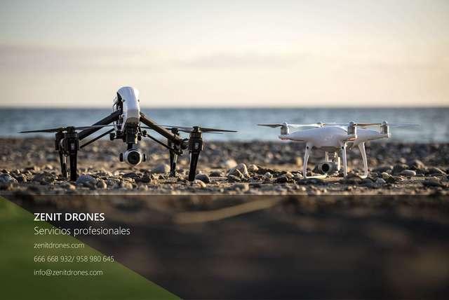 TRABAJOS AUDIOVISUALES CON DRONES