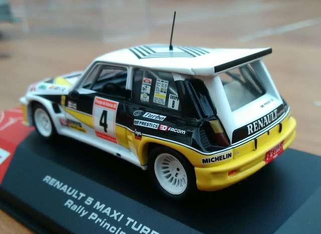 Miniatura Renault 5 Maxi Turbo (1986)