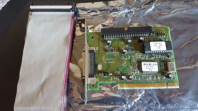 2X TARGETAS SCSI ADAPTEC 2948 + 2904 - foto 2