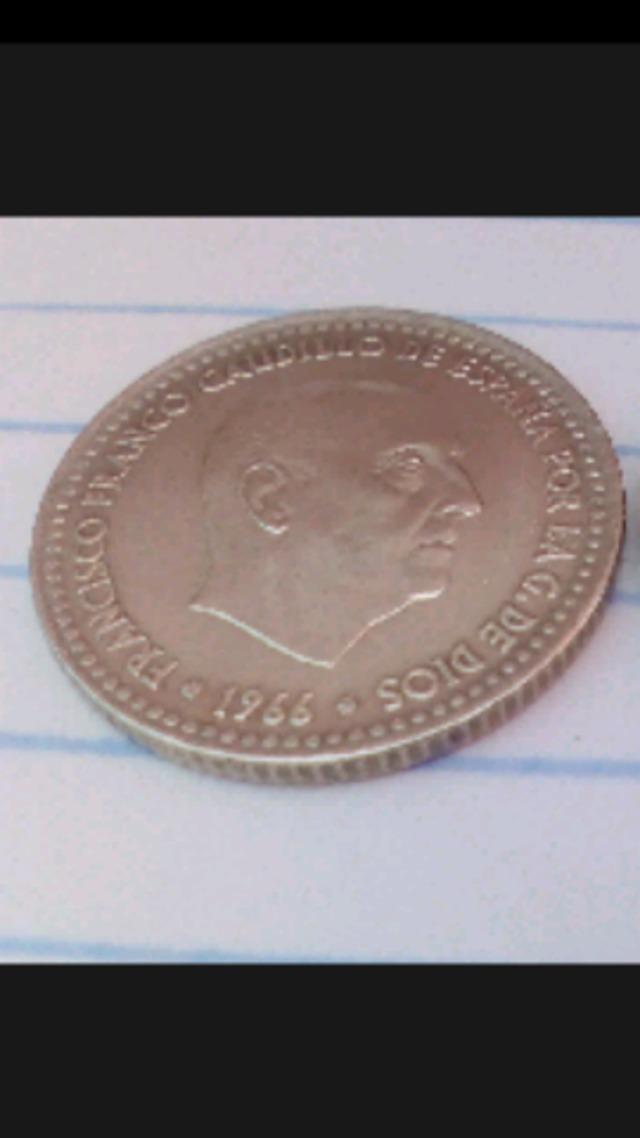 MONEDA DE 1 PESETA 1966 * 75
