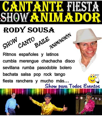 SHOW ARTÍSTICO CANTANTE ANIMADOR BAILE - foto 2