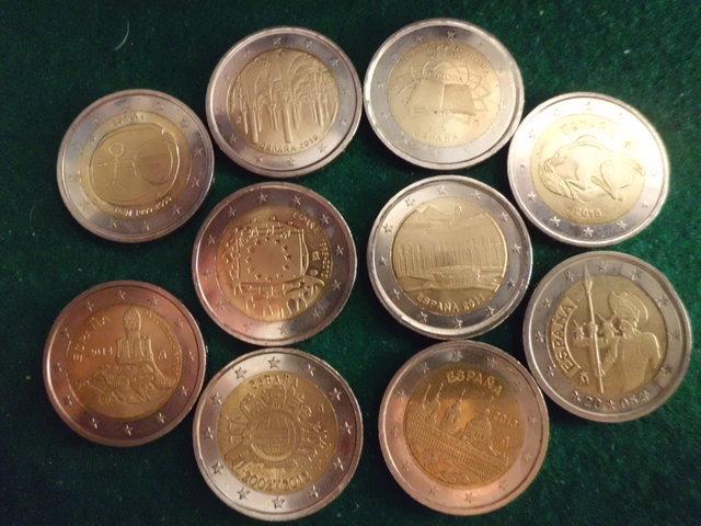 Monedas De 2 Euros Conmemorativas