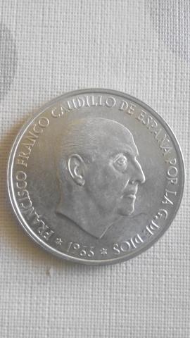 Monedas De Plata De 100 Pesetas Año 1966