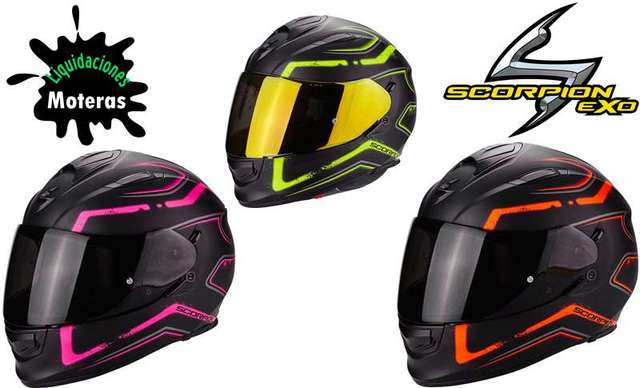 Comprar Casco Scorpion Exo 510 Air Xena online en Motos