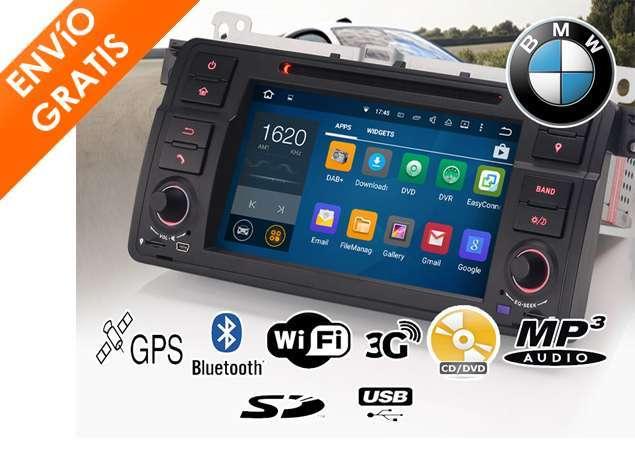 AUTORRADIO CD BMW ANDROID GPS MIRRORING