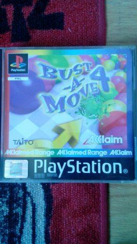 JUEGO PS1 PLAY 1 PSX BUST A MOVE 4