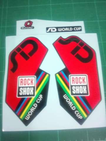 KIT VINILOS ROCK SHOX SID WORLD CUP