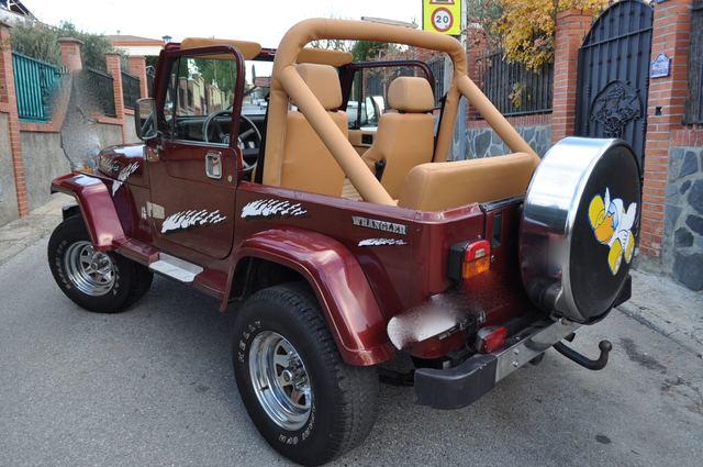 Mil Anuncios Com Jeep Wrangler 4 2 197cv 4x4 Cabrio