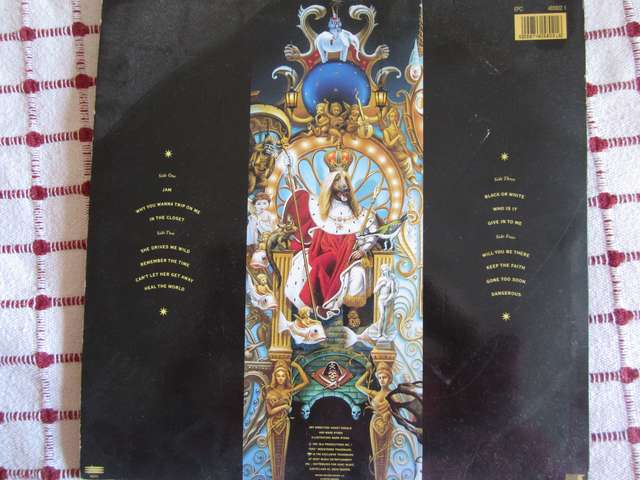 DOBLE ALBUM DANGEROUS.  - foto 3