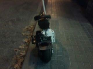 UNIVERSAL MOTOR - PATINETE GASOLINA RAICOLL 50CC
