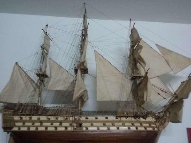 MAQUETA HMS VICTORY