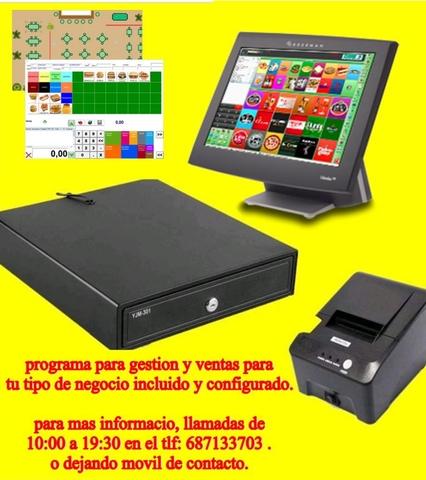 TPV COMERCIOS, PELUQUERIAS, BARES, ETC.