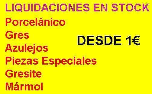 Stock Azulejos Desde 1€ Guadalajara