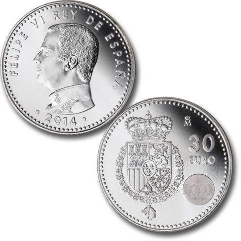 Monedas Plata De 30
