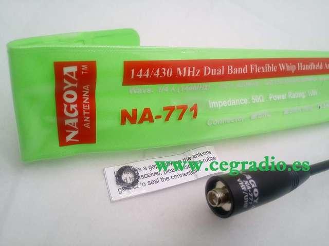 NAGOYA NA-771 ANTENA DOBLE BANDA VHF UHF
