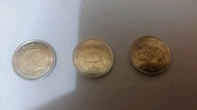Bonitas Monedas De 2E Conmemorativas: