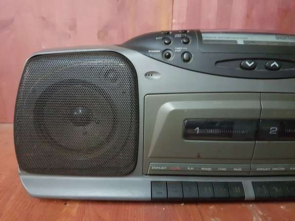 RADIO CASSETTE PORTATIL DOBLE PLATINA PH - foto 2