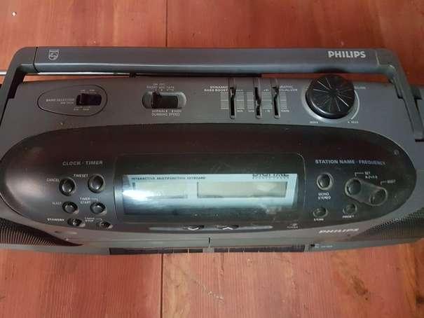 RADIO CASSETTE PORTATIL DOBLE PLATINA PH - foto 5