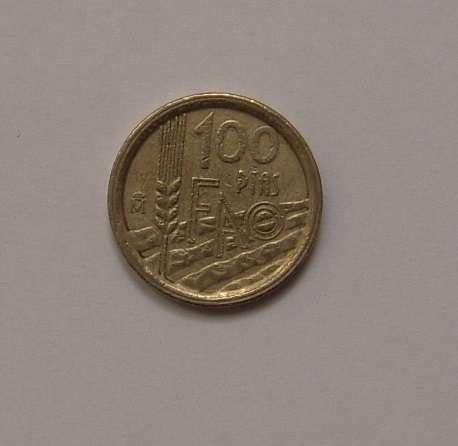 Moneda De 100 Pesetas 1995 Conm. Fao