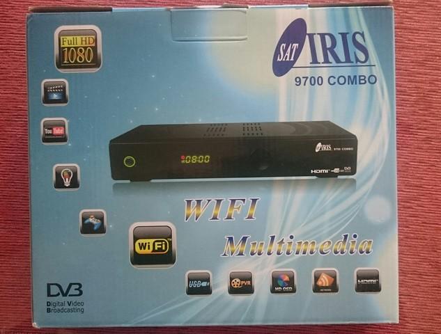 DECODIFICADOR IRIS 9700 COMBO A ESTRENAR