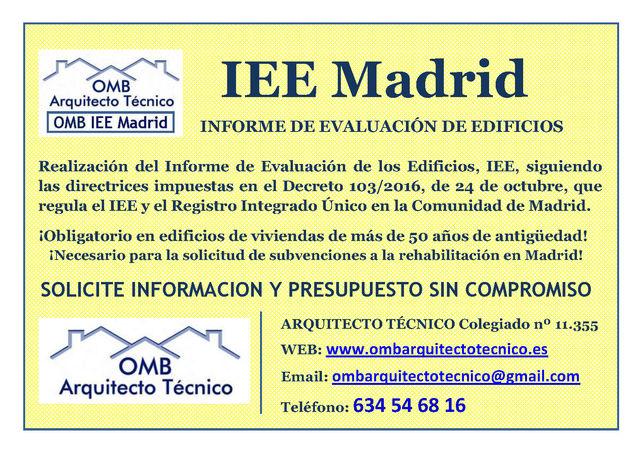 IEE - INFORME EVALUACIÓN DE EDIFICIOS - foto 1