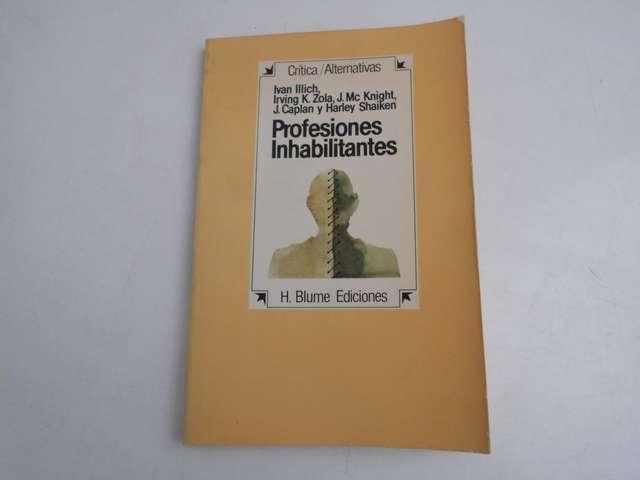 PROFESIONES INHABILITANTES