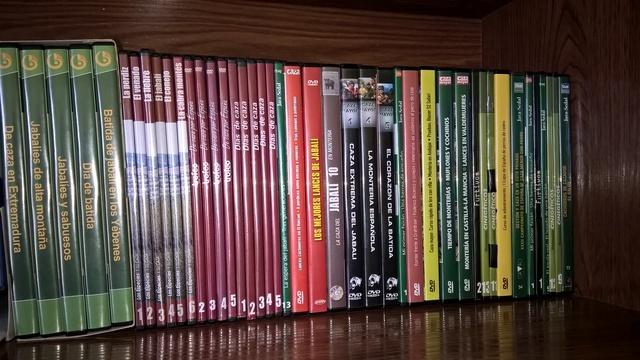 DVDS DE CAZA MAYOR Y MENOR