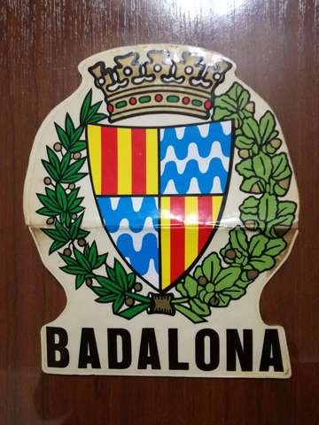 Pegatina Badalona