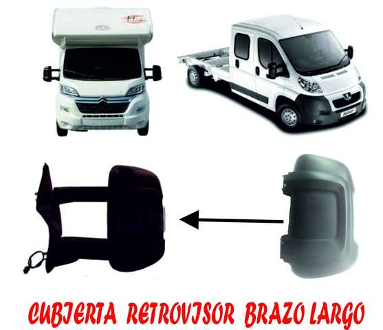 AUTOCARAVANA BOXER CUBIERTA RETROVISOR