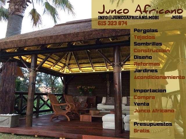 Pérgolas De Junco Africano