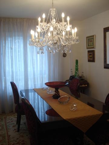 LAMPARA CRISTAL COMEDOR 9 BRAZOS. 70X62