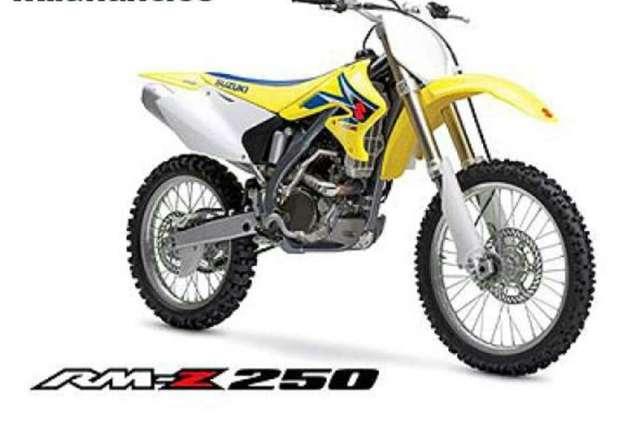 DESPIECE SUZUKI RMZ 250 4 T
