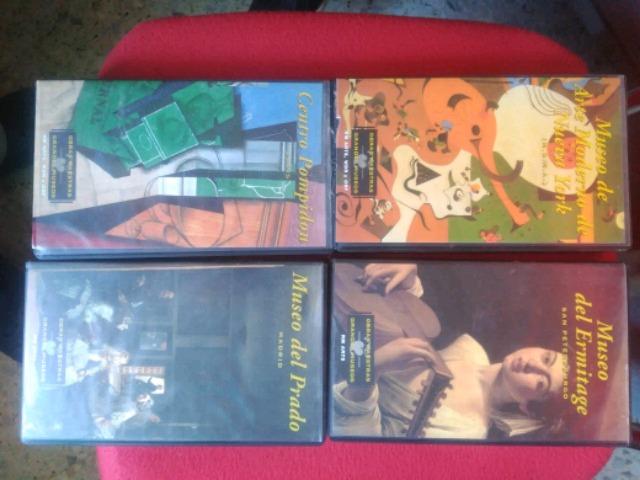 OBRAS MAESTRAS DE LOS GRANDES MUSEOS VHS - foto 1