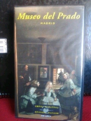OBRAS MAESTRAS DE LOS GRANDES MUSEOS VHS - foto 7