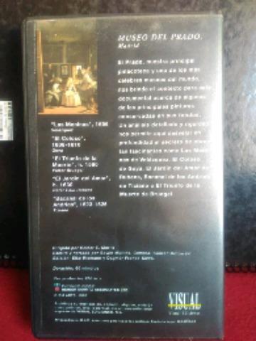 OBRAS MAESTRAS DE LOS GRANDES MUSEOS VHS - foto 8