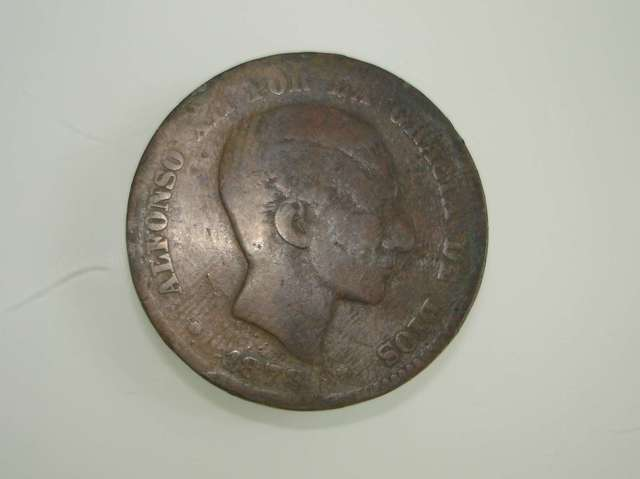 Moneda 10 Céntimos 1878