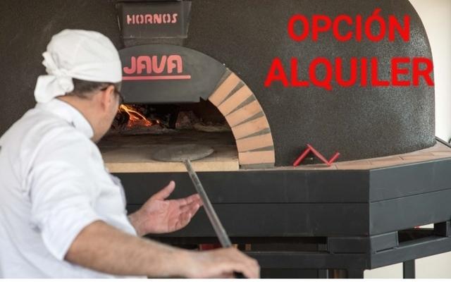 HORNO PIZZAS QUEMADOR GAS LEÑA PIZZERO - foto 1