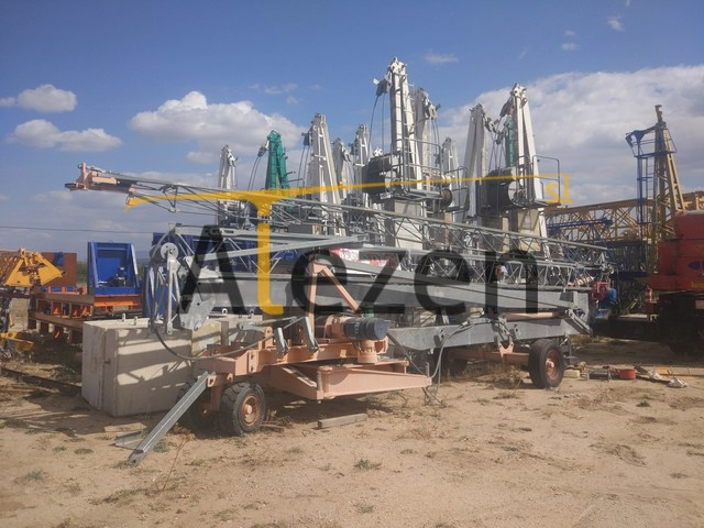 LOTE DE 8 GRUAS JASO J4510 BASE OPCIONAL - foto 1