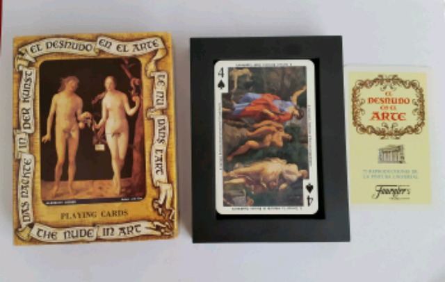 Baraja El Desnudo En El Arte Fournier