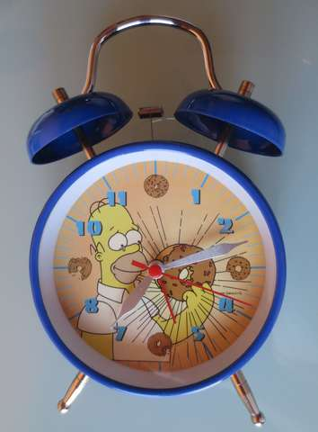 Reloj Despertador Homer Simpson