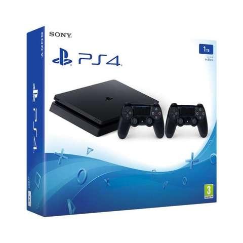 PS4 SLIM 1TB 2 DUALSHOCK A ESTRENAR