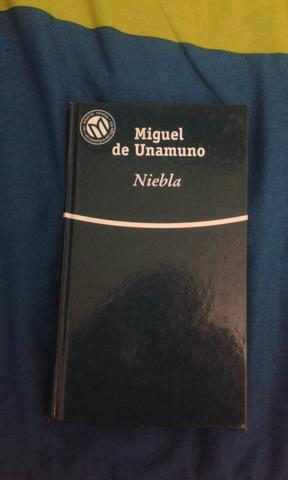 LIBRO NIEBLA DE MIGUEL DE UNAMUNO