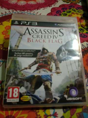 ASSASSIN, S CREED IV BLACK FAG PS3